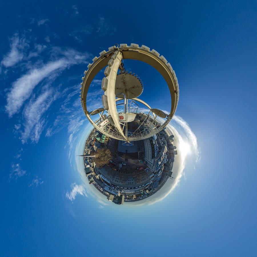 Polar Panorama Riesenrad Wilhelm