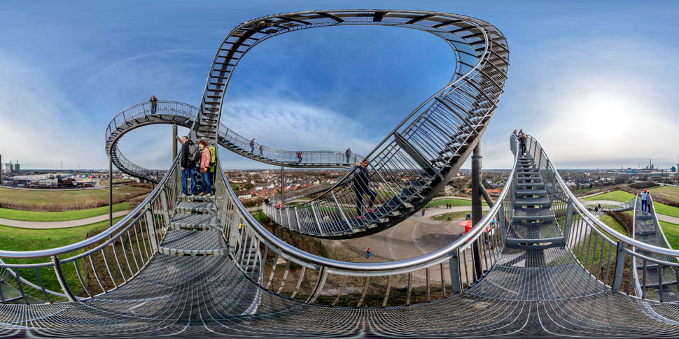 Tiger And Turtle Panorama