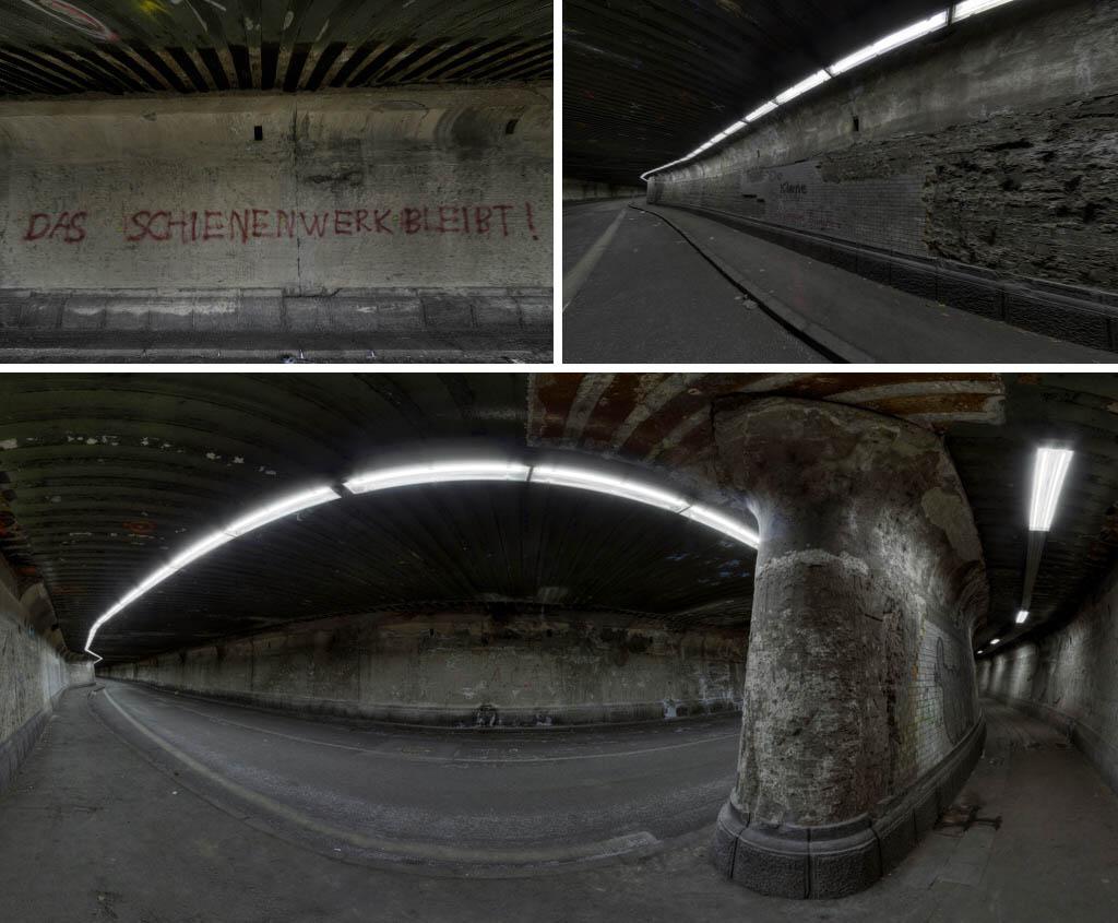 Matena Tunnel Panorama Rundgang