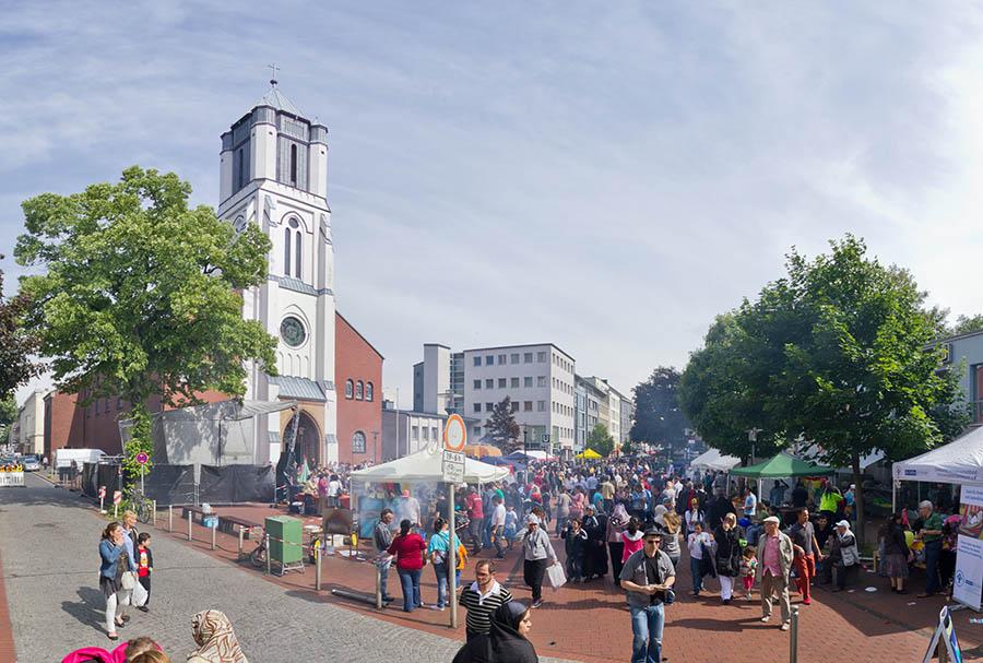 Münsterstaßenfest Panorama