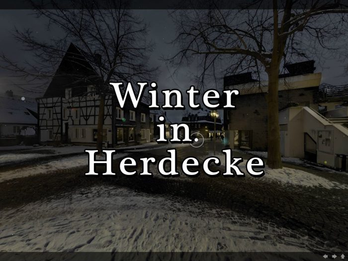 Winter in Herdecke