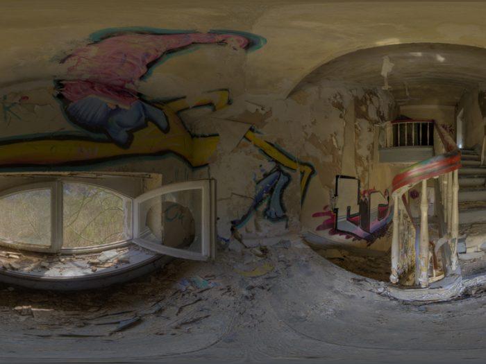 verlassener gutshof