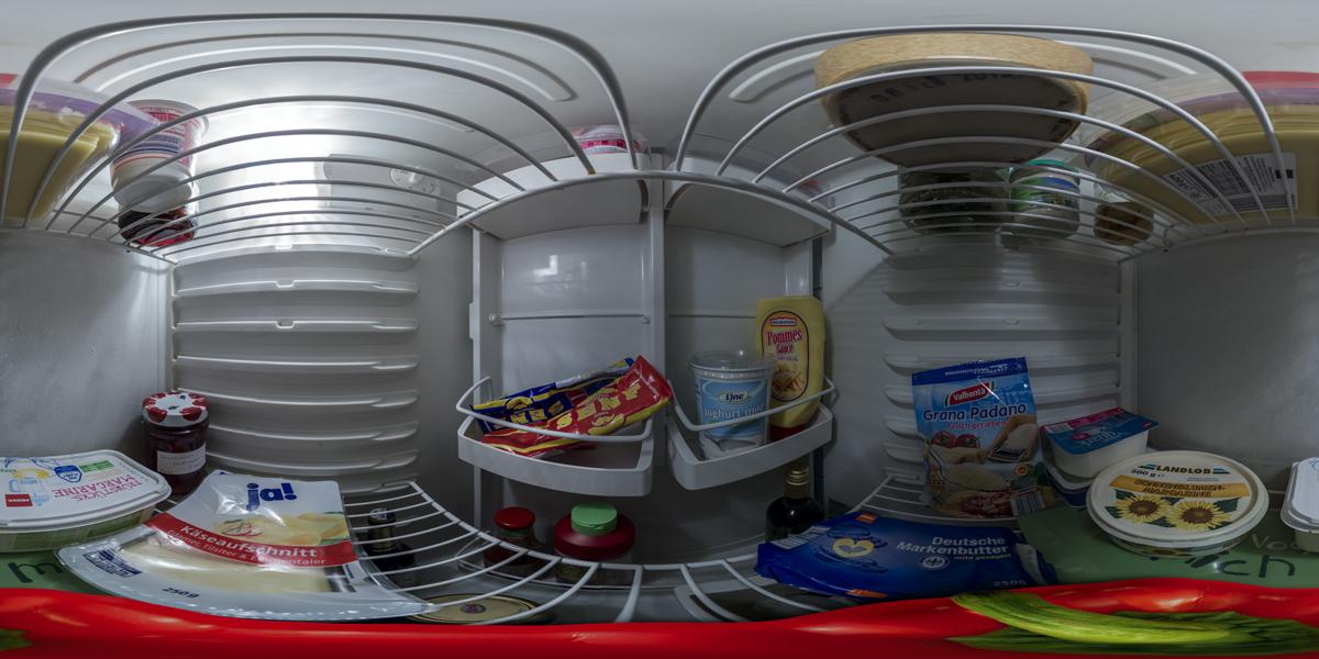 360° Kühlschrank