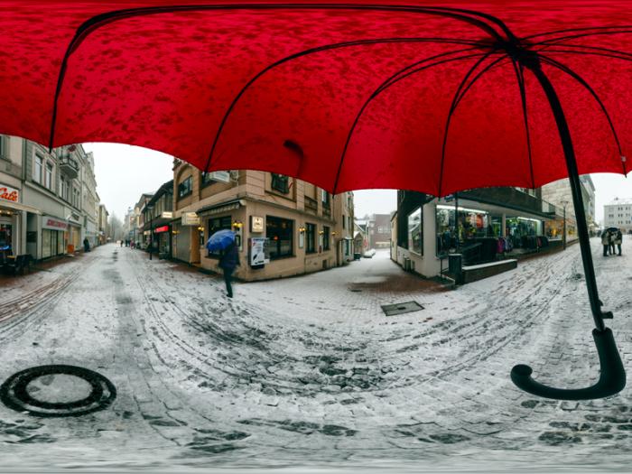 Regenschirm Panorama