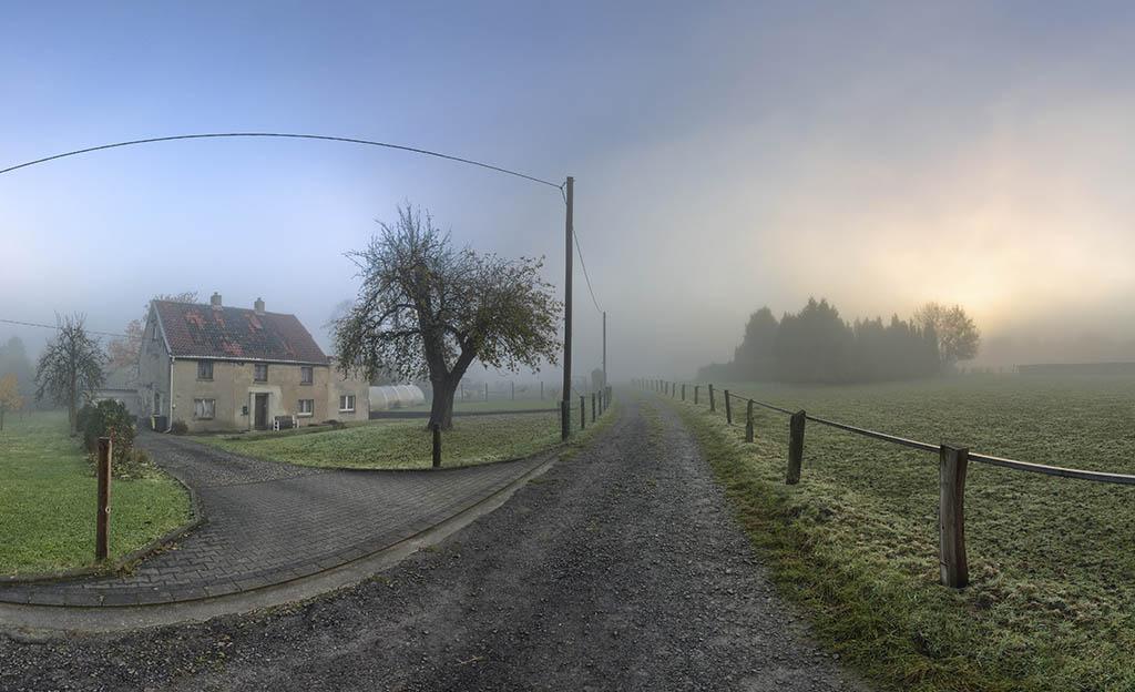 Nebel Bövinghausen Panorama