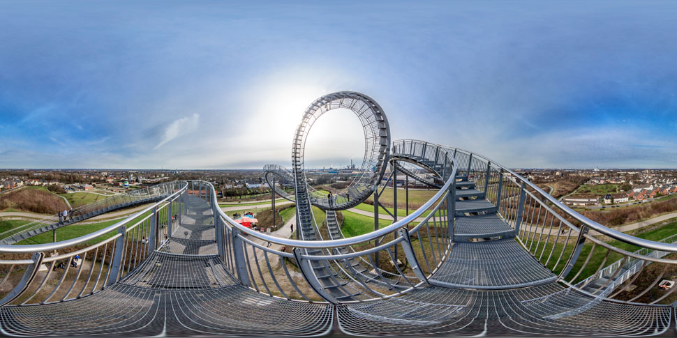 Tiger And Turtle Panorama 02