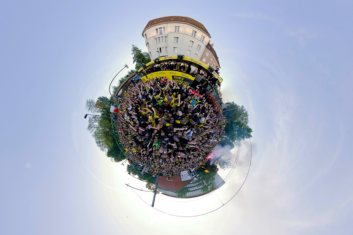 BVB Meisterfeier 2012 Dortmund Panorama