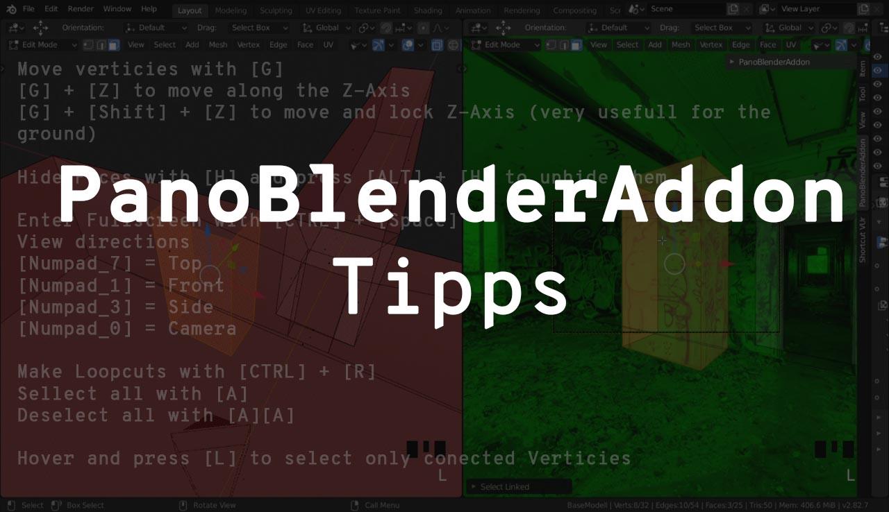 PanoBlenderAddon Tipps