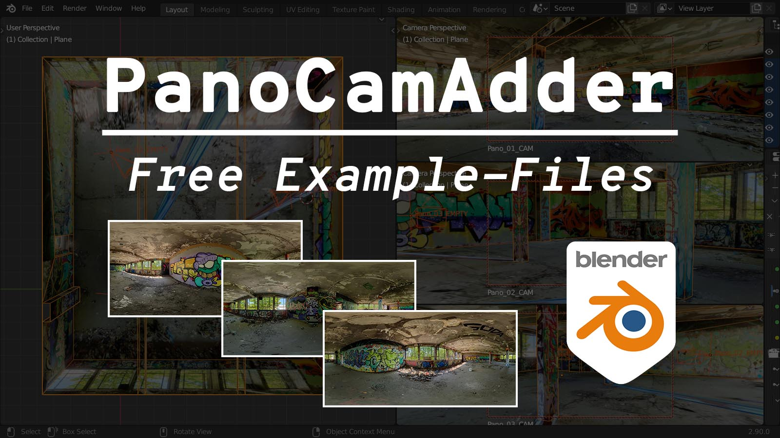 PanoCamAdder Example-Files