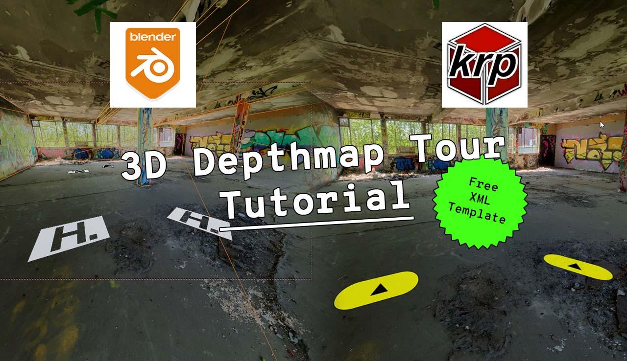 PanoCamAdder 3D Depthmap Tour Tutorial